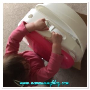 Review Potty Summer Infant Step by Step potty excited toddler
