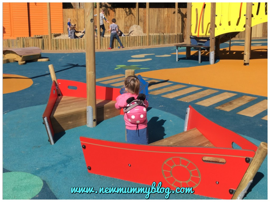 Weymouth Sea Life Adventure Park - Caribbean Cove play park days out Hampshire boat fun
