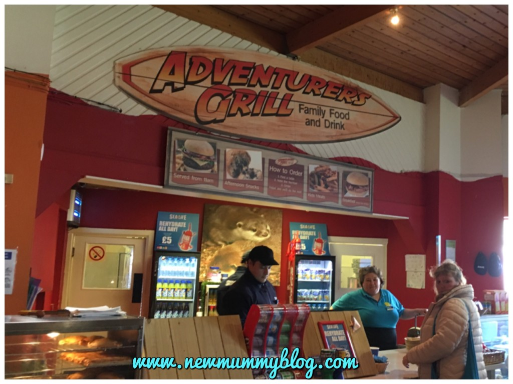 Weymouth Sea Life Adventure Park - Caribbean Cove play park days out Hampshire cafe