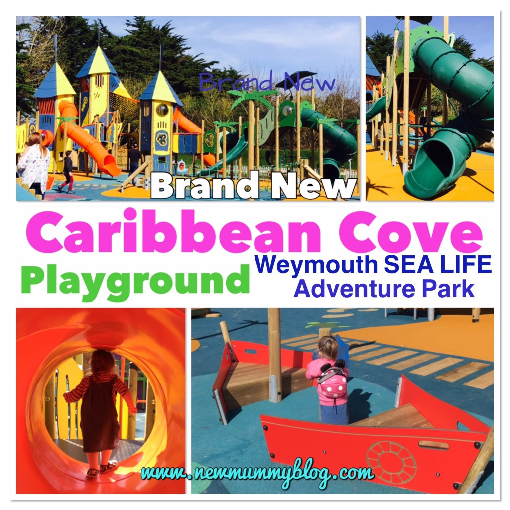Weymouth Sea Life Adventure Park - Caribbean Cove play park days out Hampshire