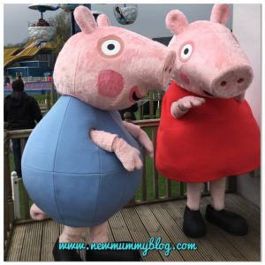 Visiting Peppa Pig World with a 2 year old - review Southampton days out - family day out with two year old meet Peppa Pig and George Southampton review