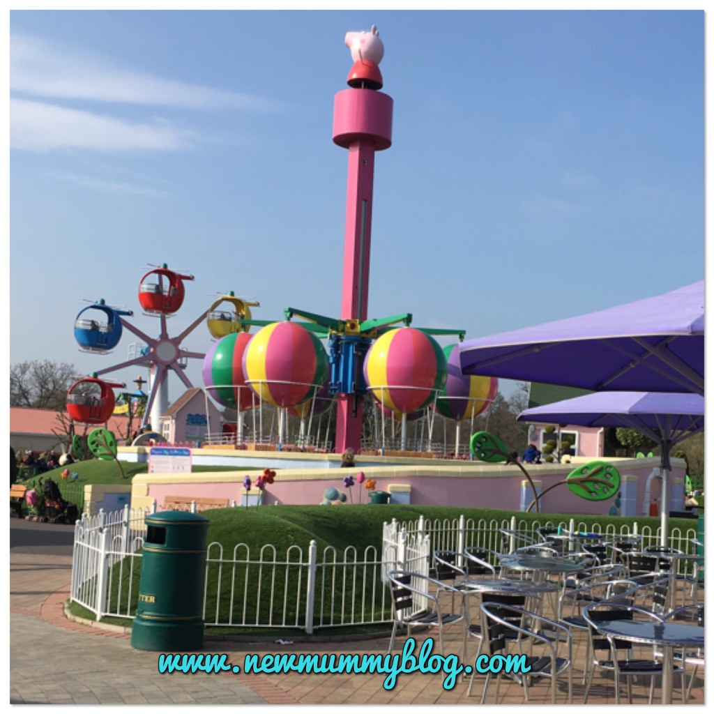 Review Peppa Pig World with a 2 year old Southampton - our family day out with two year old Toddler H