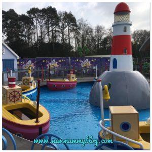 Peppa Pig World Review - Paultons Park Southampton Grandpa Pig Boat ride