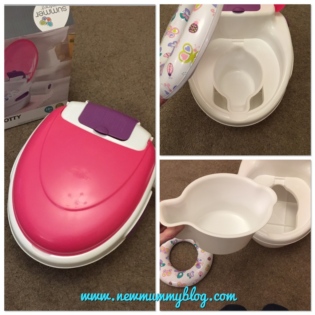 Recommended potty - Summer infant potty