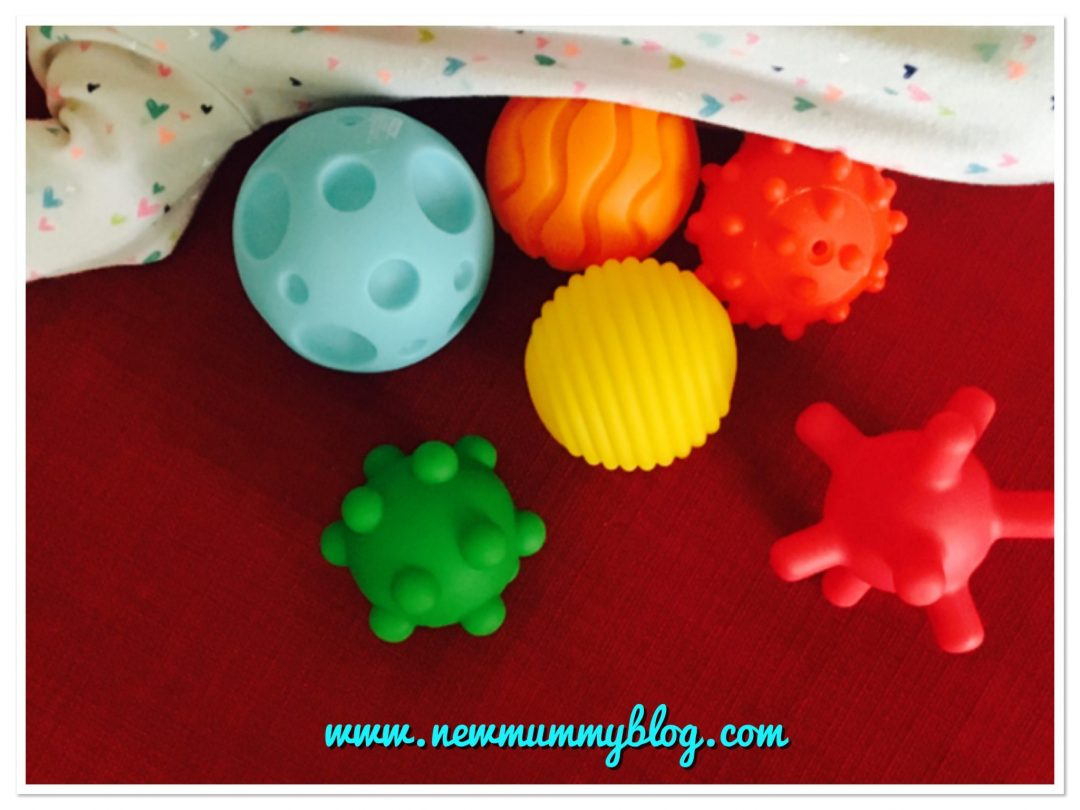 sensory toys by Bkids Infantino sensory balls - multi coloured