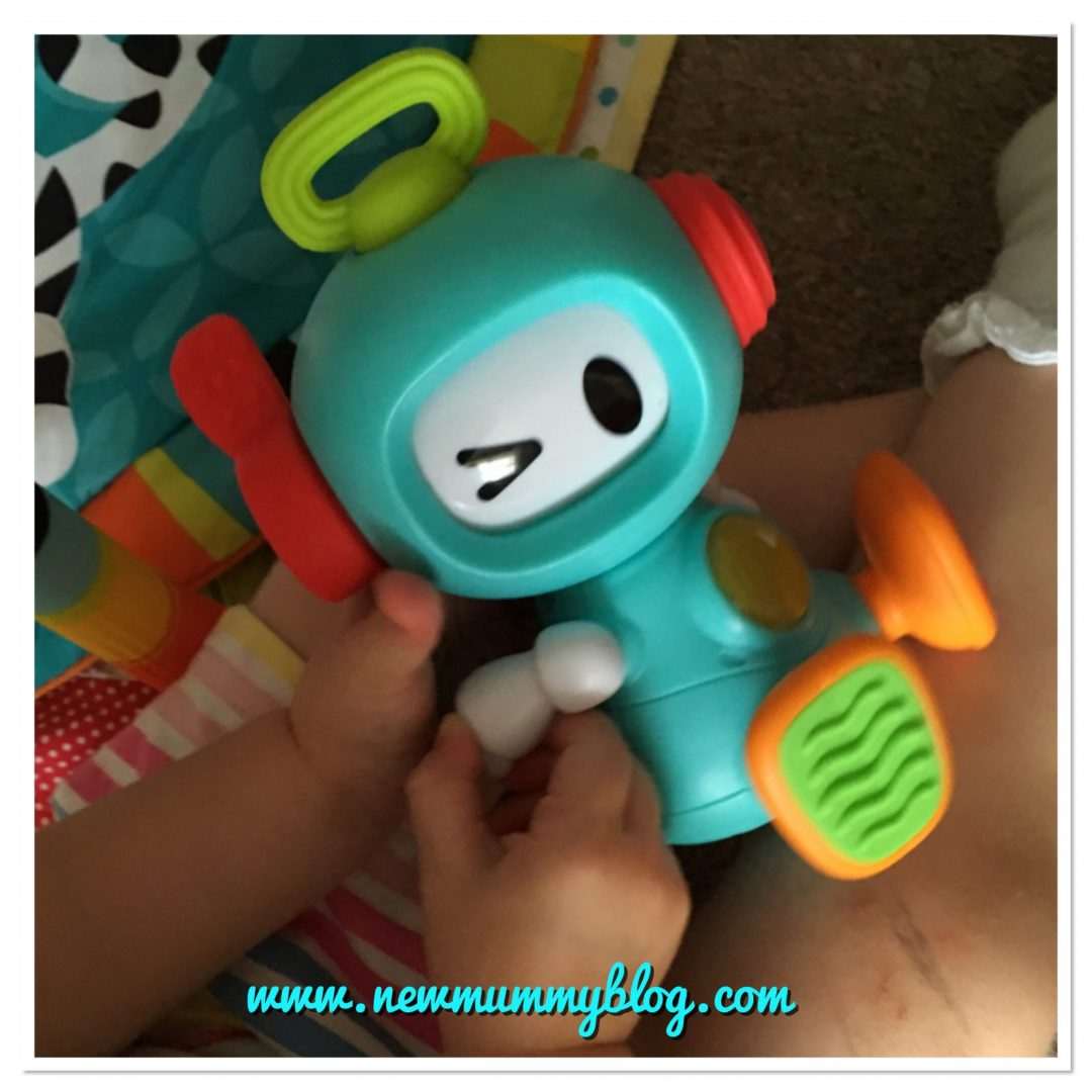 sensory toys from Bkids Infantino Robot