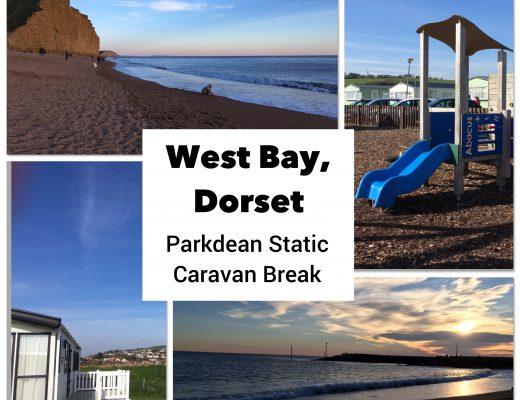 West Bay Dorset Parkdean review caravan holiday Jurassic Coast family friendly