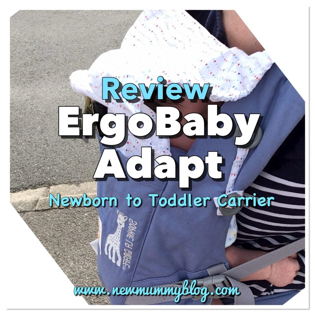 Ergo Adapt review baby carrier ergonomic design newborn friendly
