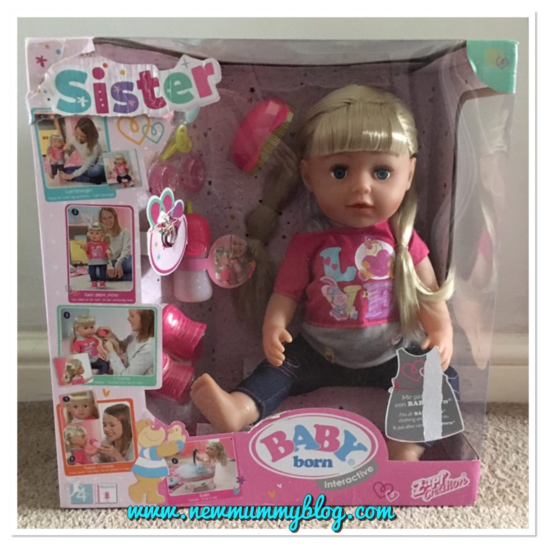 Baby Born Sister Doll By Zapf Creations Review New