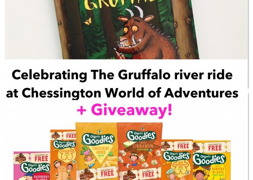 Win The Gruffalo book and Organix goodies to celebrate Chessington World of Adventures new ride