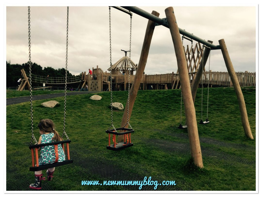 Days out with kids near Glasgow play park Drumpellier Country Park