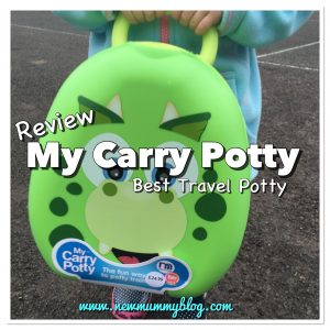My Carry Potty review - best and easiest way for potty training outside the house