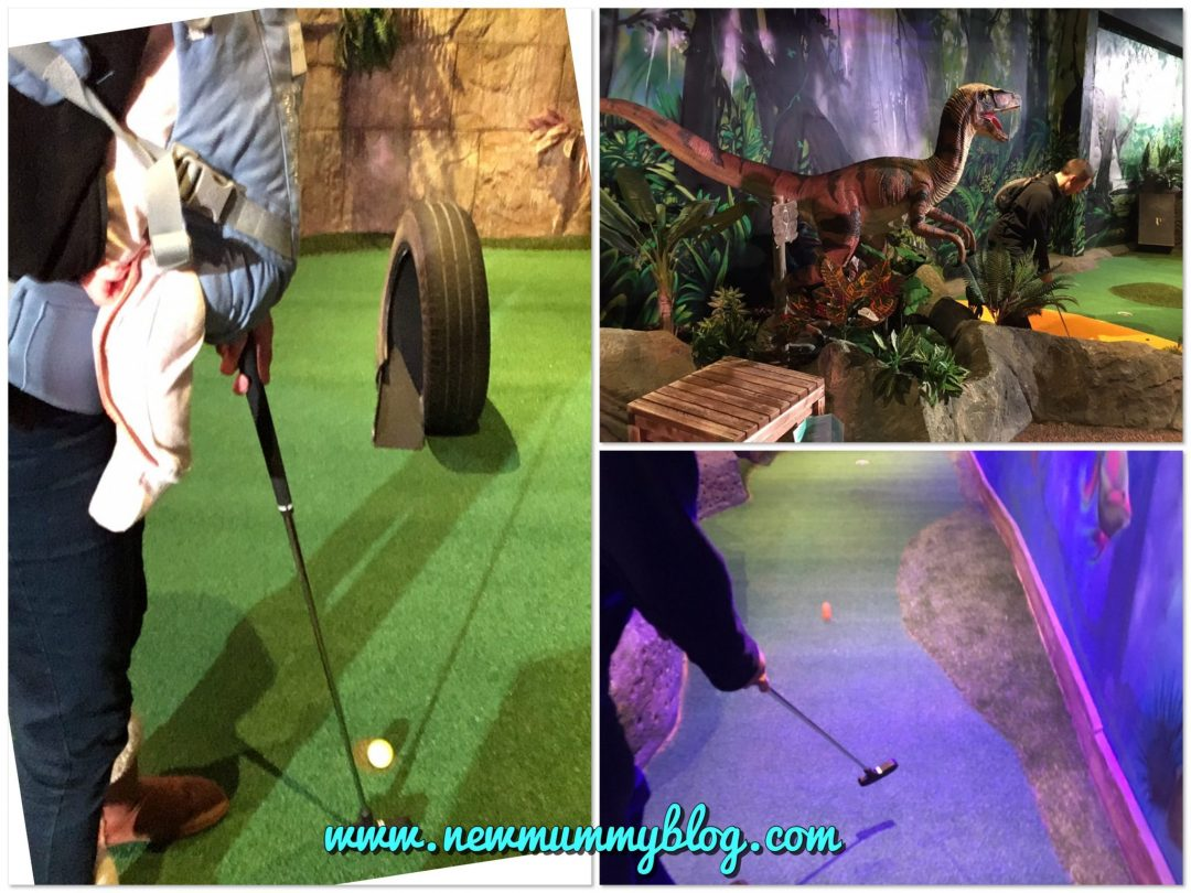 Mr Mulligans Cheltenham Lost World mini golf The Brewery review