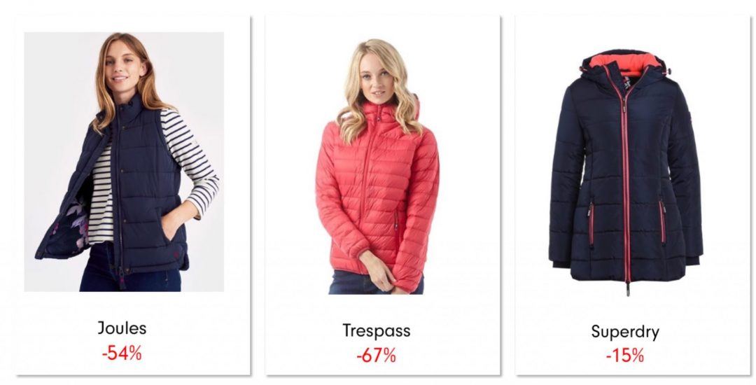 Jackets and gillets autumn winter bargains from love the sales 2017 mummy favourites
