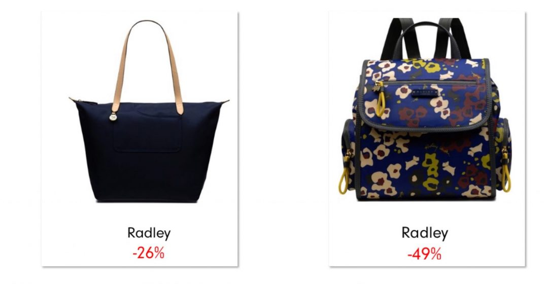 Alternative to changing bag - Mummy bags for toddler and baby stuff Love the sales bargains Radley