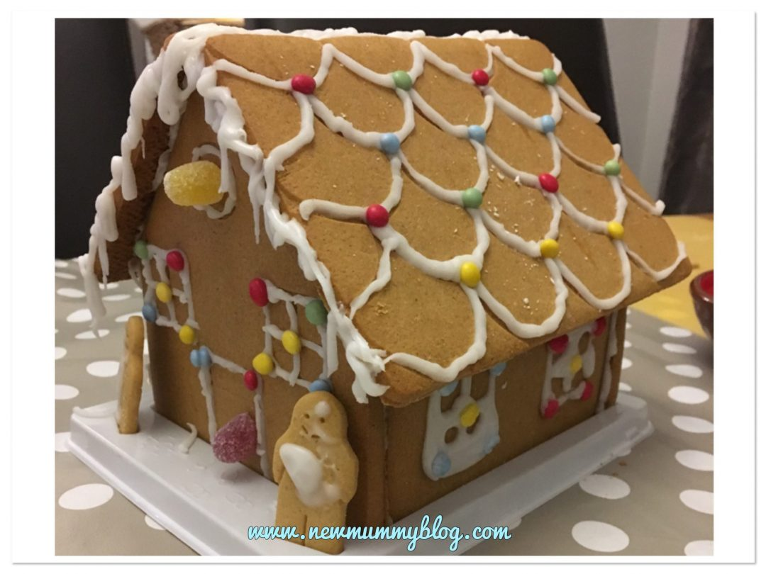 Decorate a gingerbread house  Christmas activity advent calendar - alternative advent calendar ideas for toddler
