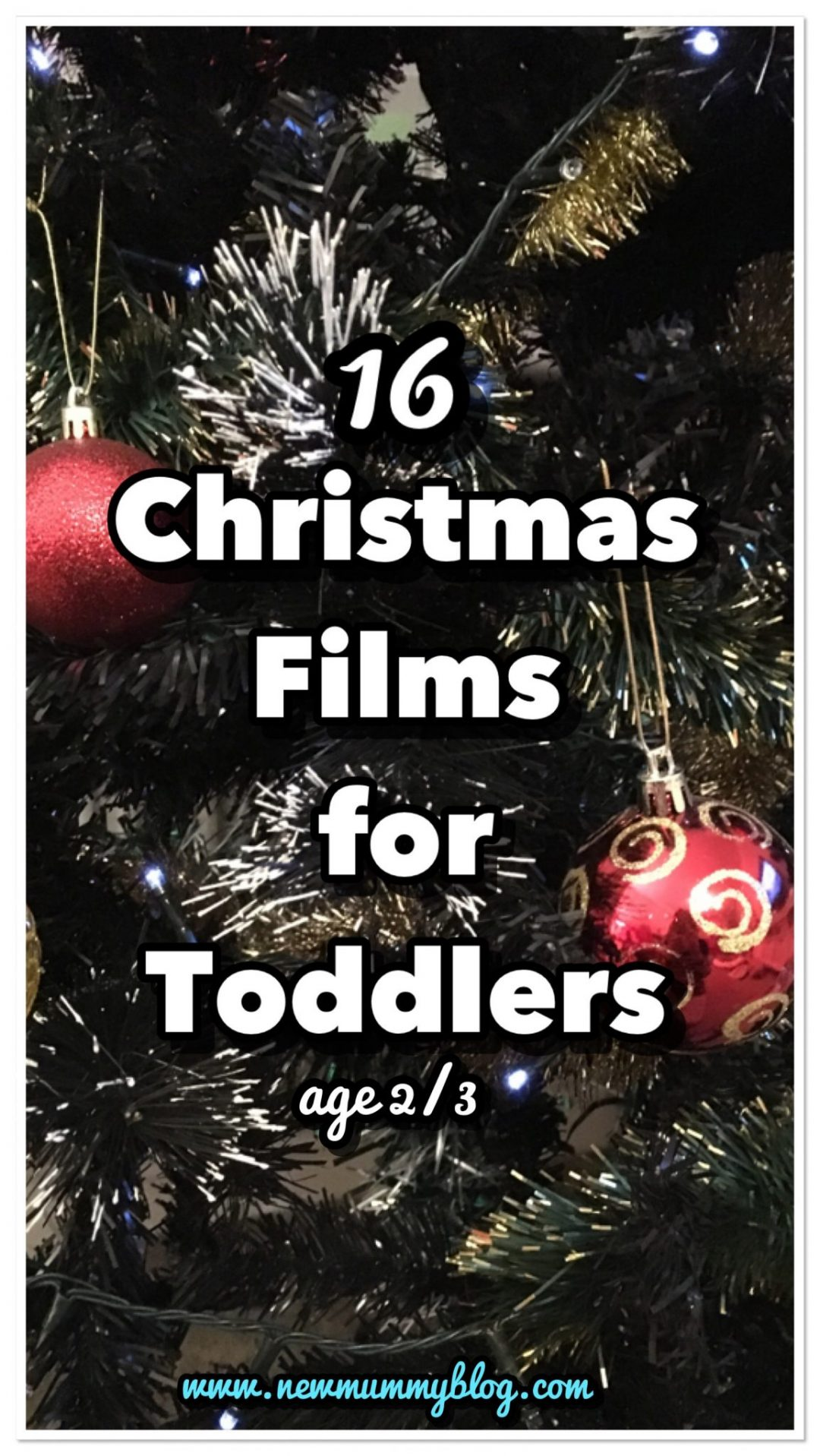 Toddler Christmas films list 2 year old 3 year olds