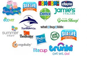 New Mummy Blog brands worked with. Kids, restaurants, toys, baby, mummy, days out collaborations