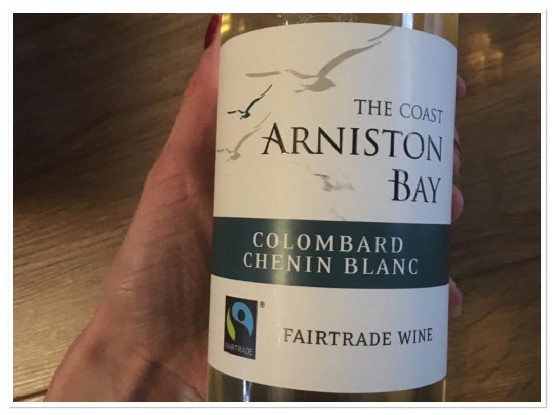 Fairtrade wine for Chicken with sage, mustard and white wine recipe for fairtrade fortnight
