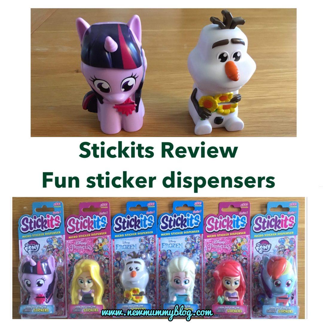 Stickits - Frozen, My Little Pony & Disney Princess stickers