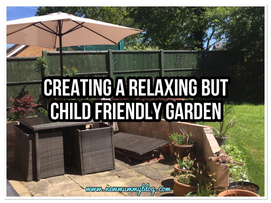Child friendly garden relaxing