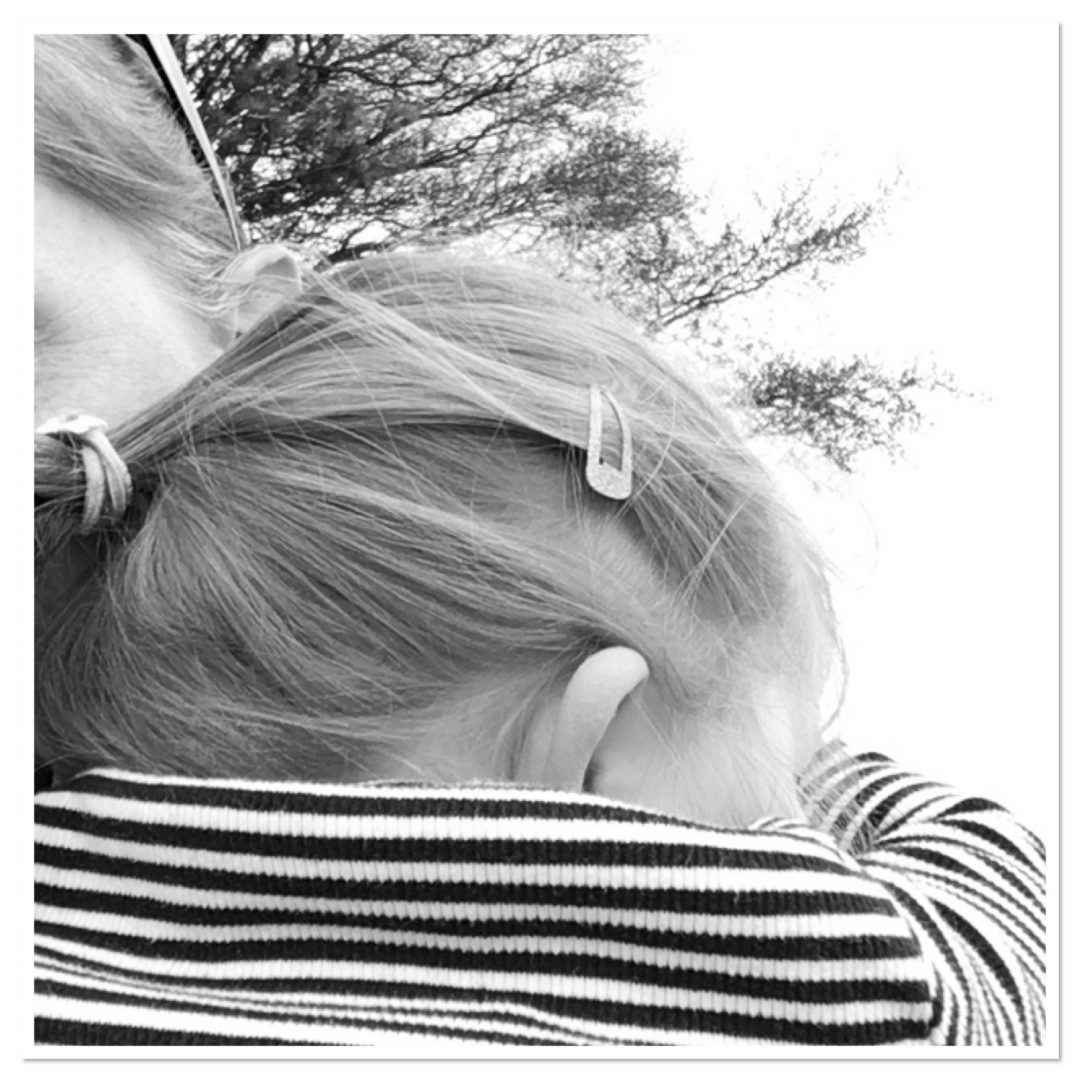 Mummy cuddles on a walk when constantly tired at 3.5 years old