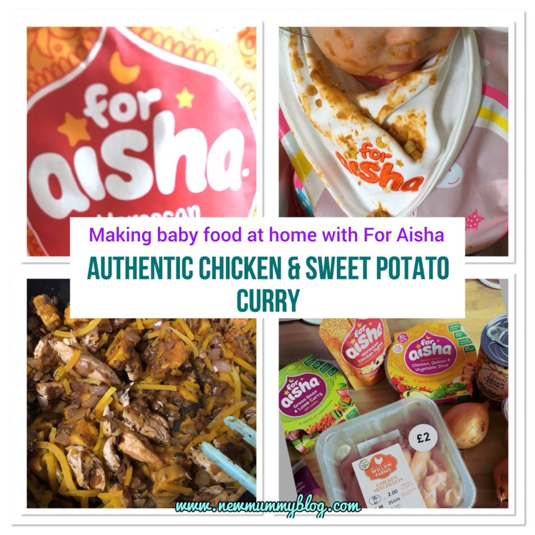 Making Baby Food With For Aisha Chicken And Sweet Potato