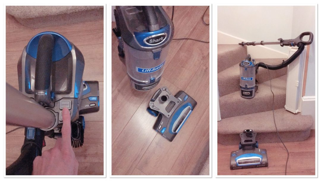 Shark Lift-Away vacuum review - the easy light vacuum for cleaning the stairs and car