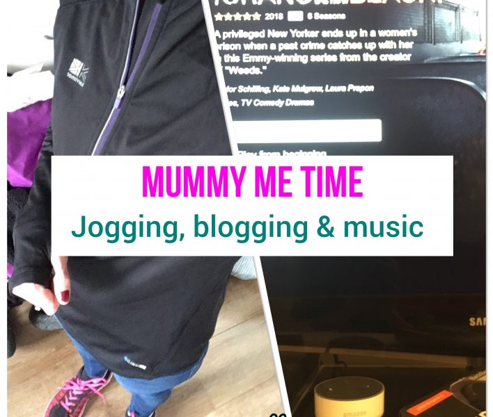 Starting to jog for me time as a mummy of two