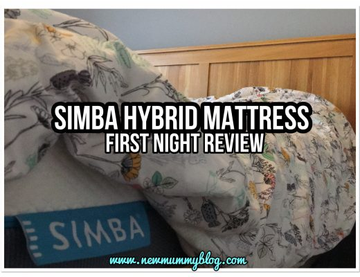 Simba hybrid mattress review first night #simbasleep memory foam converts