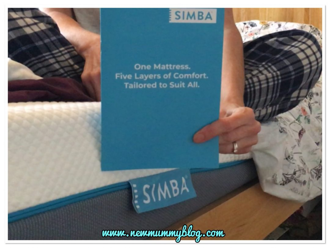 Simba mattress review - our first night and dellivery. #simbasleep