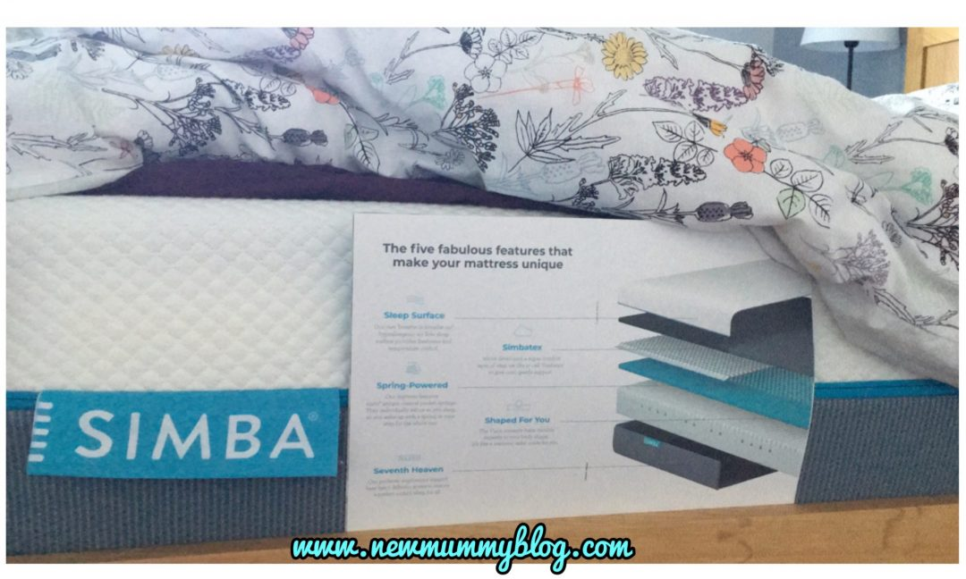 Simba Hybrid mattress review after one month | #SimbaSleep