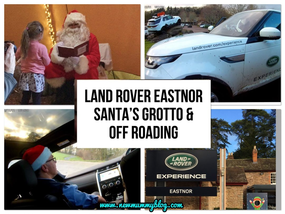 Land Rover Experience Eastnor offroad driving and Santa's Grotto. Eastnor Castle, driving experience gift. Herefordshire