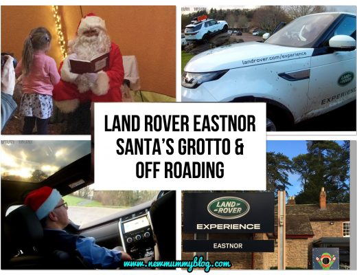 Off road driving at Land Rover Experience Eastnor Castle + visiting Santa