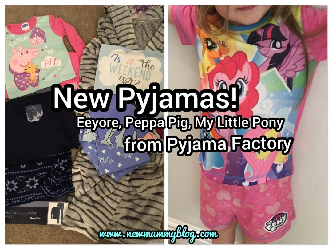 New pyjamas and dressing gown for the whole family in time for Christmas from the Pyjama Factory - New Mummy Blog Review