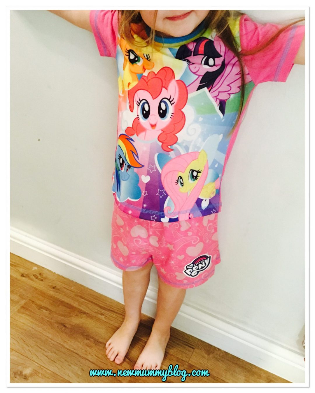 My Little Pony pyjamas from Pyjama Factory - perfect present for Christmas for a 4 year old! - new Mummy Blog Review
