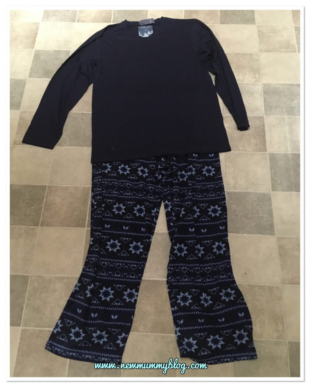 Pyjama Factory men's Christmas pjs - review new mummy blog