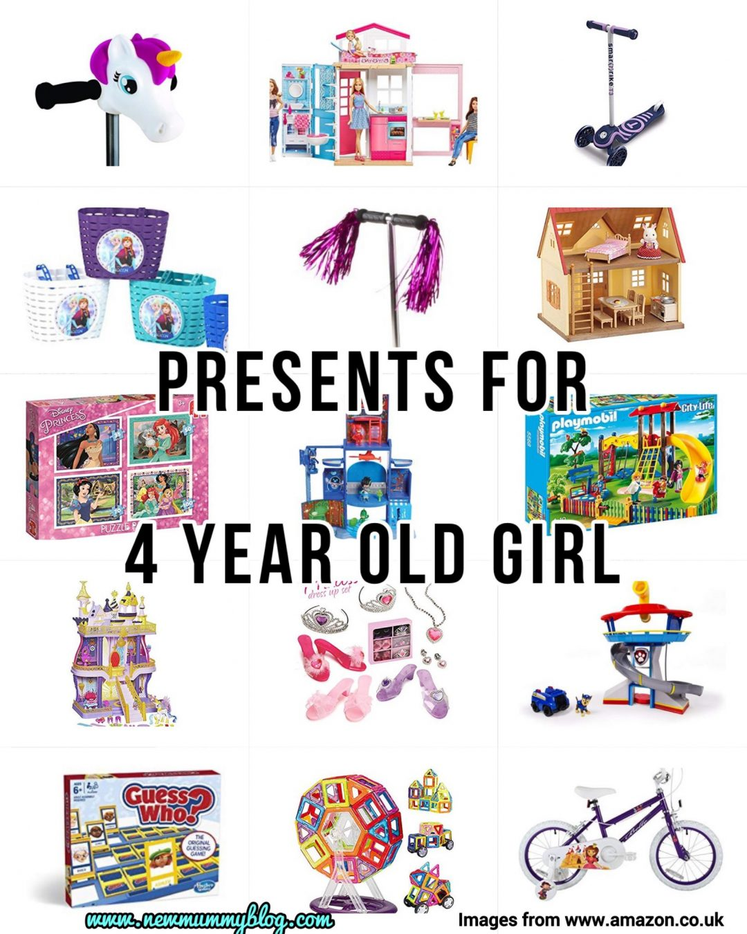 Presents for 4 year old girl gifts gift guide present ideas preschool last minute amazon