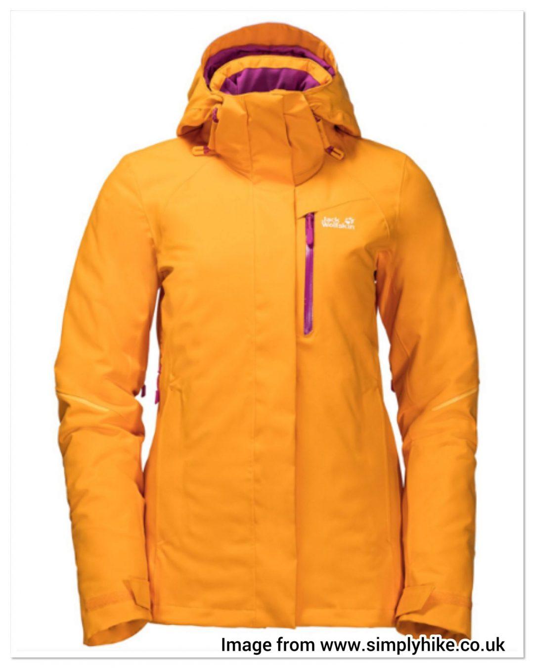 Jack Wolfskin Simply Hike waterproof jacket