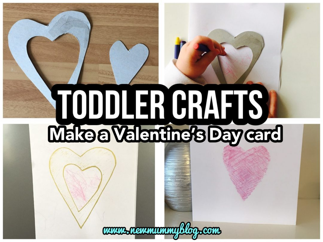 Toddler make a valentine's day card preschool activity kids crafts valentines