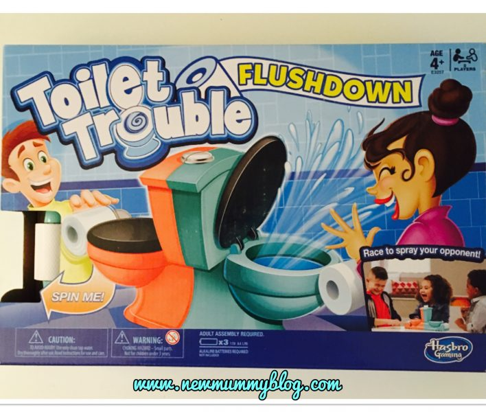 Hasbro games Toilet trouble fun at half term review