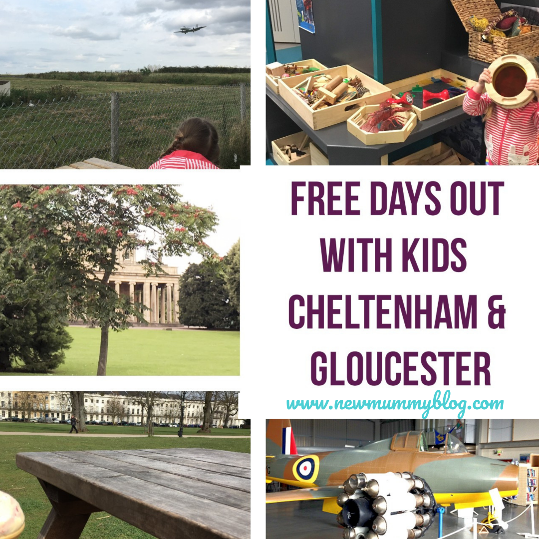 Free days out with the kids Cheltenham + Gloucester Gloucestershire school holiday plans on a budget