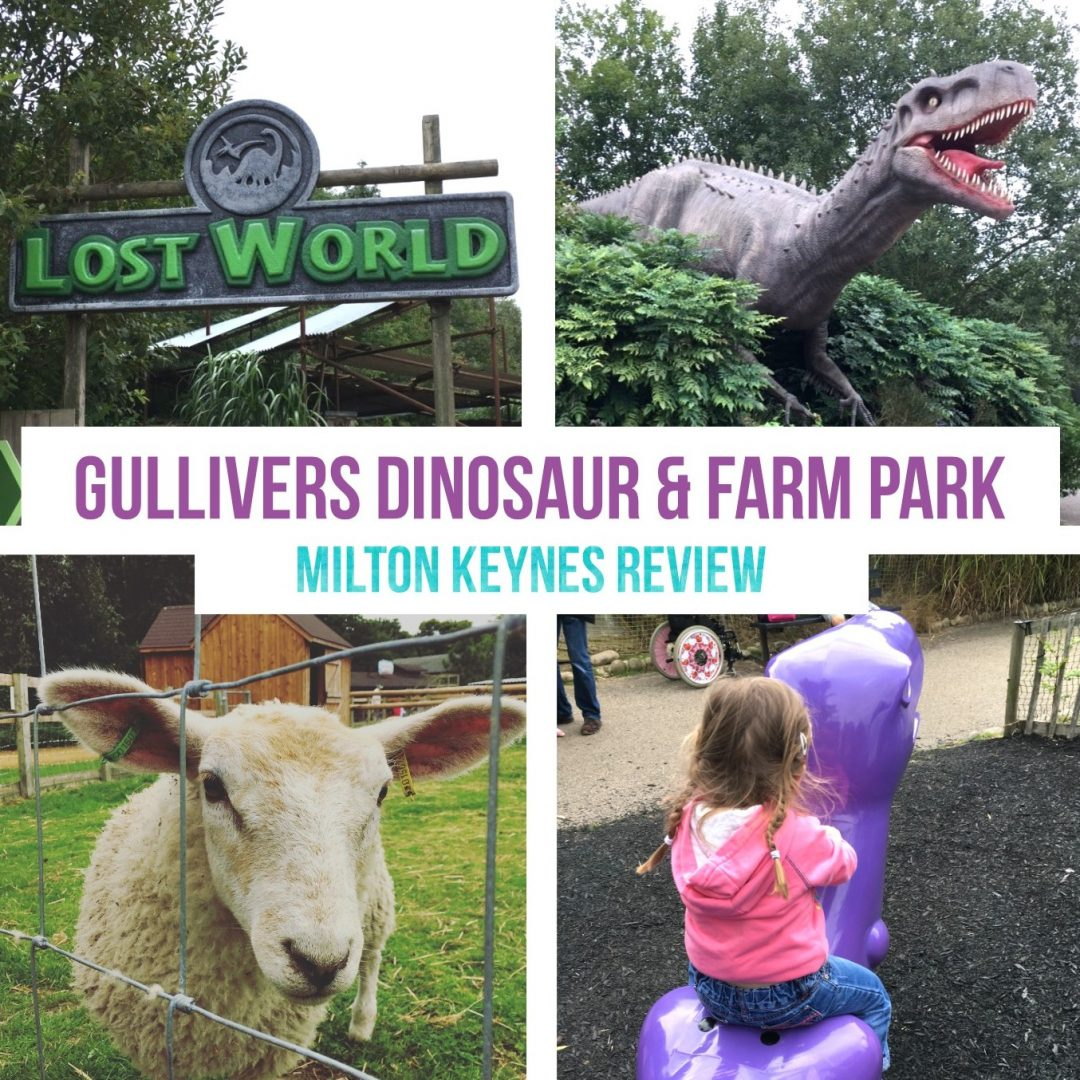 Guillivers Dinosaur + Farm Park Review Milton Keynes Days out with kids family