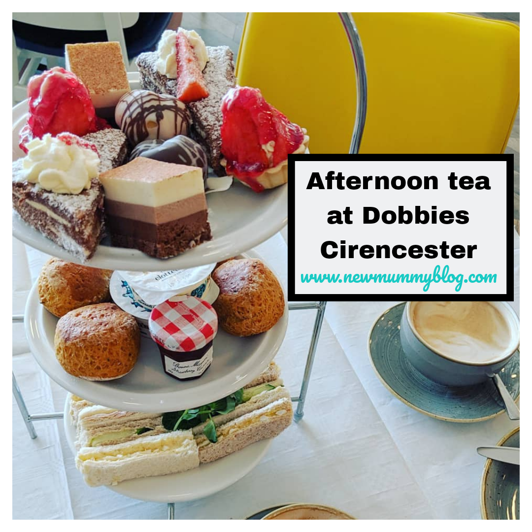 Dobbies afternoon tea - Cirencester, Gloucestershire, Cotswolds