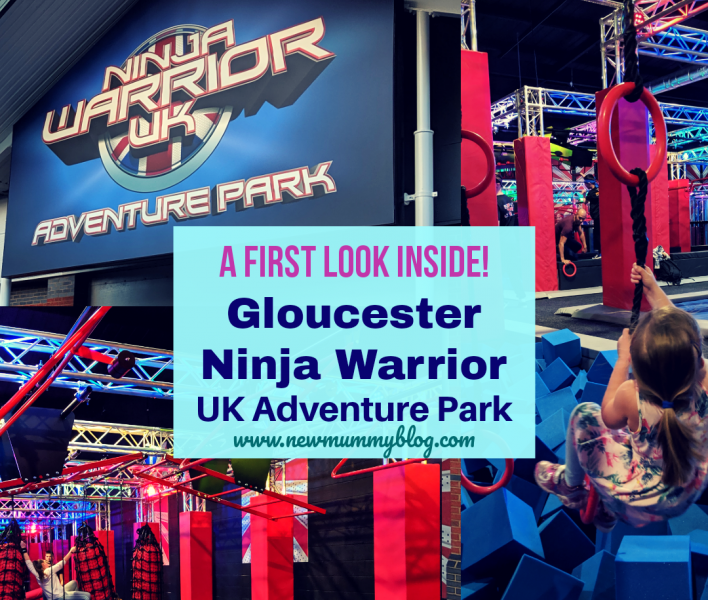 Ninja Warrior Gloucester Adventure Park first look pre-launch event Gloucestershire blogger Cheltenham family days out