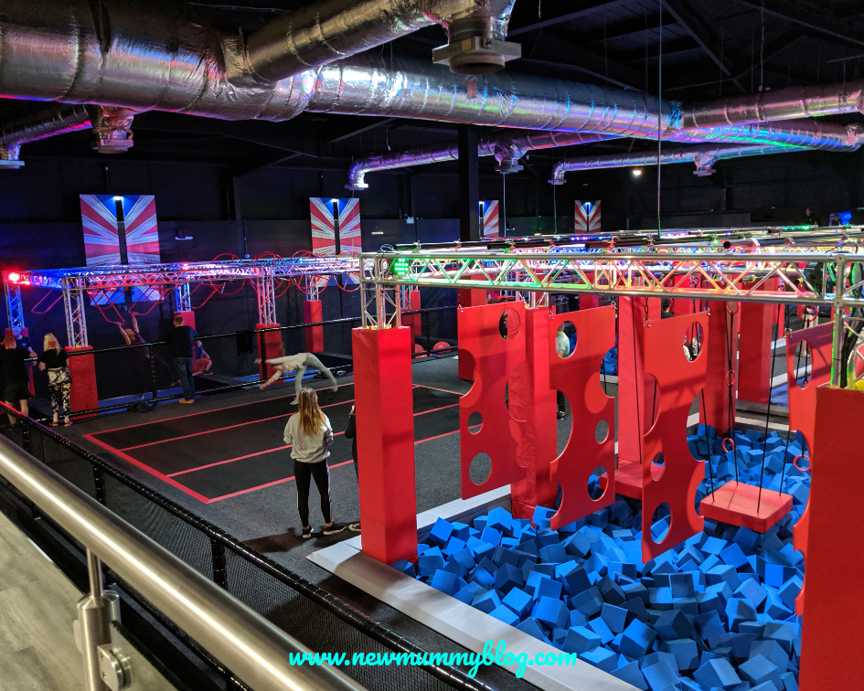 Gloucester Ninja Warrior Adventure Park kids activities Gloucestershire Cheltenham