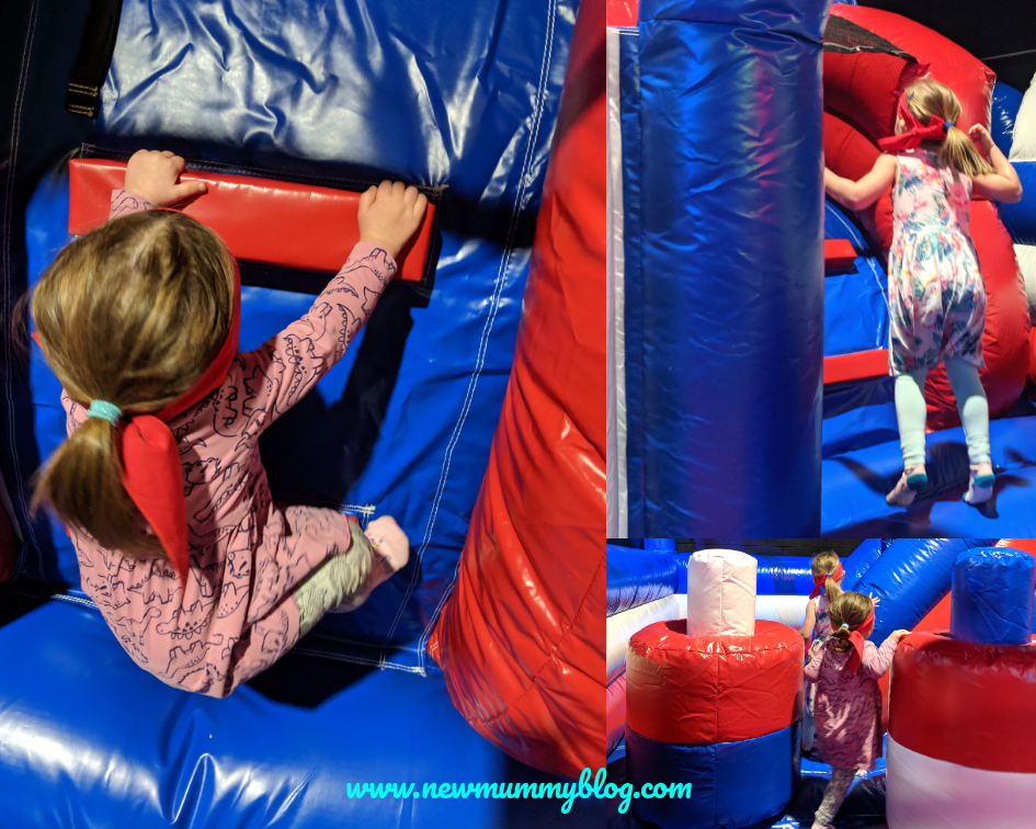 Gloucester Ninja Warrior park 2 year old and 4 year old things to do with kids