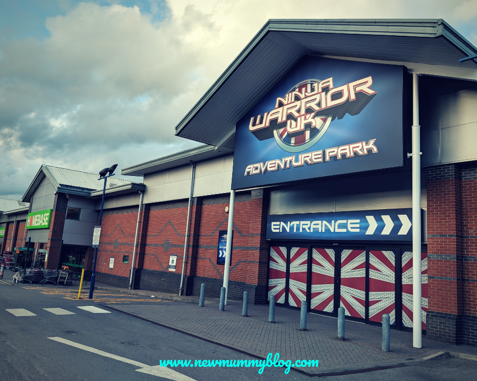 Gloucester Ninja Warrior Adventure park kids activities Gloucestershire