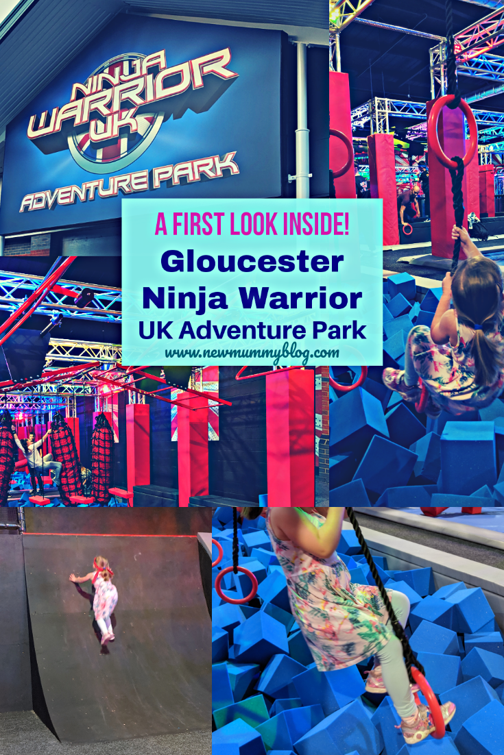 Gloucester Ninja Warrior Adventure park video and pictures from the prelaunch family day out