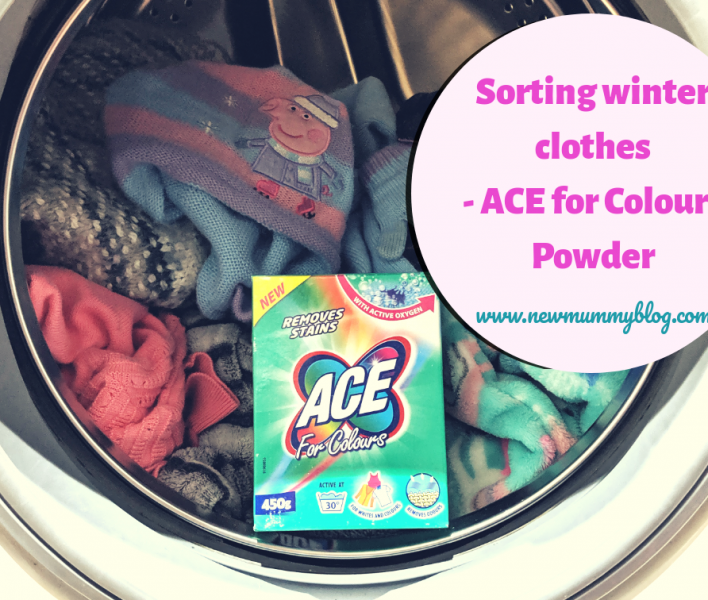 Ace for Colours review removing stains and reviving clothes for winter